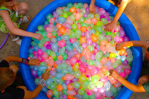waterbombs
